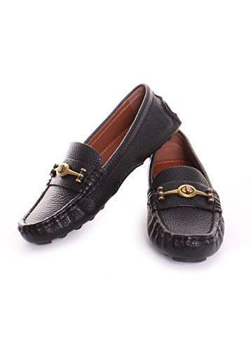 Coach Black Loafers, Black Coach Loafers