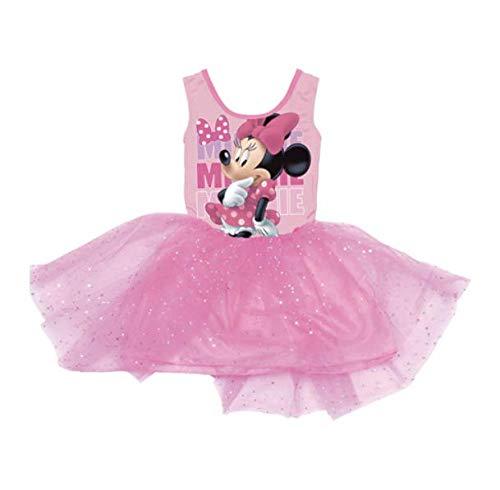 Minnie Mouse WD11043 Vestido traje ballet, manga larga ...
