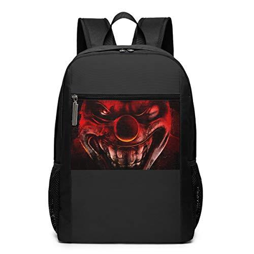 Cheny Hatchetman ICP Face Children's Lightweight Canvas Travel Backpacks School Book Bag 17 Inch - Face Posse Clown Insane