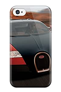 Iphone 4/4s AKRJhkY15933CwvHm Veyron Up Front Red Grille Headlights High Shot Cars Other Tpu Silicone Gel Case Cover. Fits Iphone 4/4s