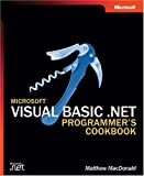 Microsoft Visual Basic .NET Programmer's Cookbook (Pro-Developer)