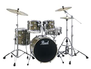 pearl vision vsx925 c445 drum kit strata gold cymbals not included musical. Black Bedroom Furniture Sets. Home Design Ideas