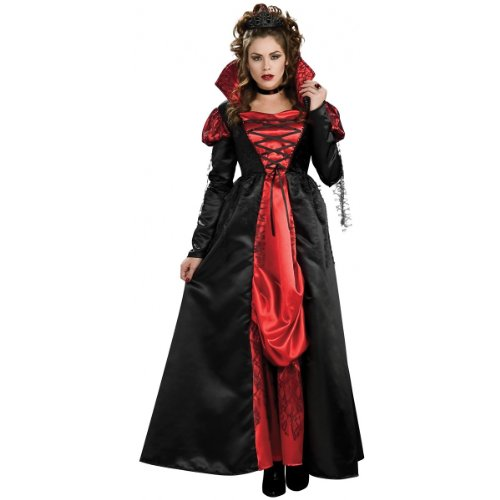 Rubie's Transylvanian Vampiress Dress With Tiara And