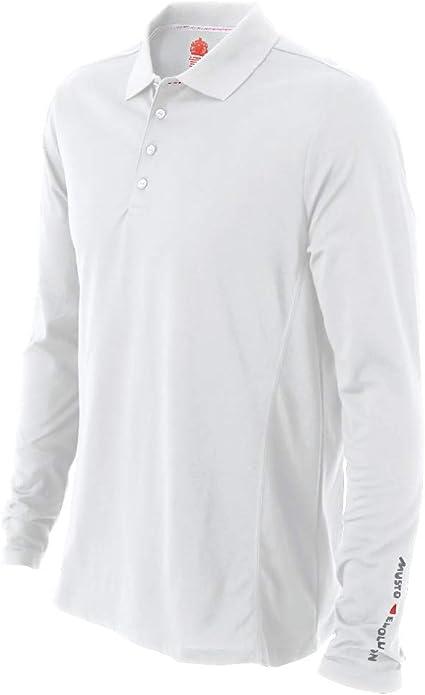 Musto Polo Evolution UV Manches Longues - Blanc: Amazon.es ...
