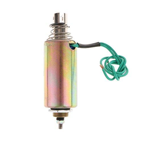 Jili Online DC 12V 10mm Stroke 1kg Force Push Pull Type Tubular Solenoid Electromagnet by Jili Online (Image #5)