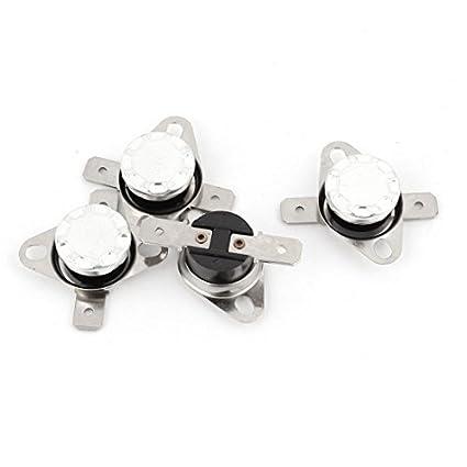 DealMux 4PCS KSD301 70C 158F temperatura não Termostato de controlo térmica Interruptor
