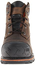 Timberland PRO Men\'s Boondock 6 Inch Waterproof Non-Insulated Work Boot,Brown Oiled Distressed,9.5 M US