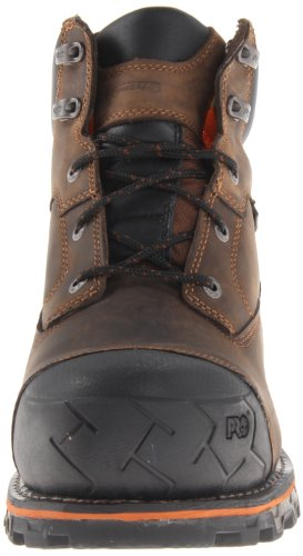 Timberland Brown Oiled 6 Insulated Non PRO Men's Boondock Boot Waterproof Work Distressed r1HzBrqw