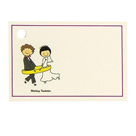 Tarjeta regalo boda novios alianza: Amazon.es: Hogar