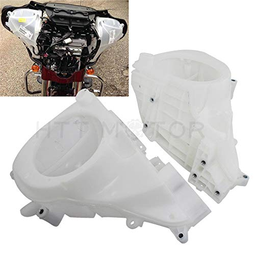 HTTMT HL1584-089-A+B- Inner Fairing Speaker Enclosure Cover Compatible with Harley Electra Street Glide 2014-2017