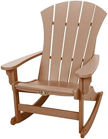 Original Pawleys Island Cedar Durawood Sunrise Adirondack Rocking Chair - the best outdoor rocking chair for the money