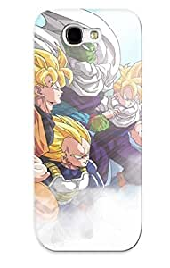 Durable Protector Case Cover With Cartoon Dragon Ball Z Hot Design For Galaxy Note 2