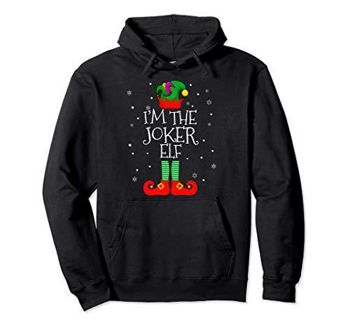 I'M THE Joker ELF Hoodie Matching Christmas Costume -