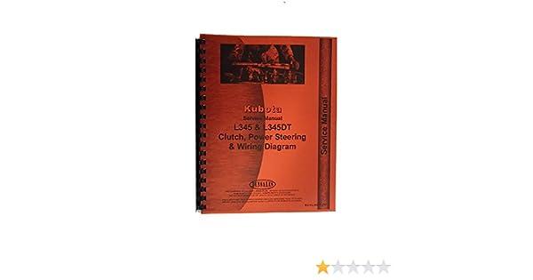 Kubota L345 L345DT Tractor Service Manual: Amazon.com: Books