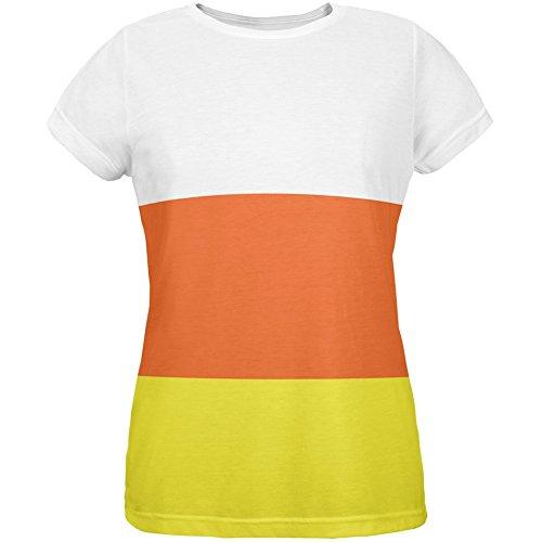 Old Glory Halloween Candy Corn Costume All Over Womens T-Shirt - Large]()