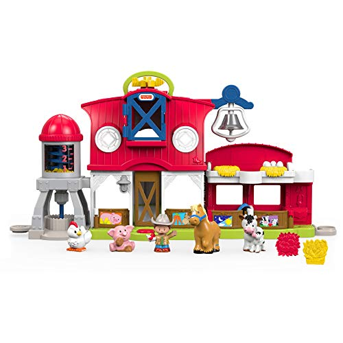 Fisher-Price Little People Caring for Animals Farm Playset
