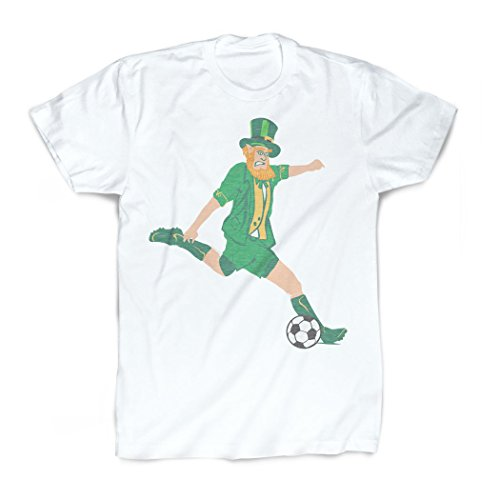 Leprechaun T-Shirt | Vintage Faded Soccer T-Shirt by ChalkTalkSPORTS | Youth Small