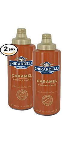 Pack of 2 - Ghirardelli Caramel Sauce, 17 oz Squeeze Bottle
