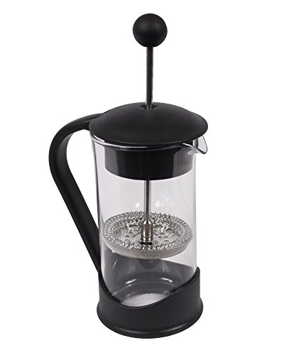 - French Press Single Serving Coffee Maker by Clever Chef | Small French Press Perfect for Morning Coffee | Maximum Flavor Coffee Brewer With Superior Filtration | 2 Cup Capacity (12 fl oz/0.4 liter)