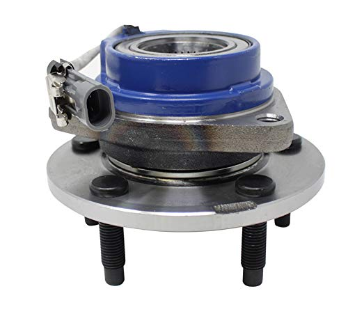 Front Wheel Hub and Bearing Assembly for Allure Century LaCrosse LeSabre Park Avenue 5 Lug w/ABS ()