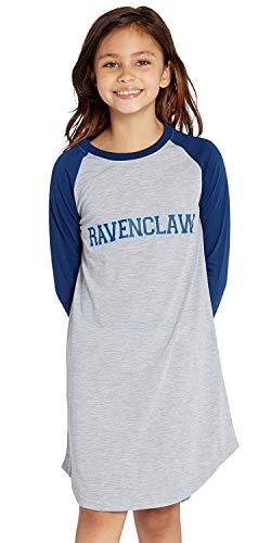 INTIMO Big Girls Harry Potter Pajama Nightgown Sleep Shirt - Gryffindor, Ravenclaw, Hufflepuff, Slytherin