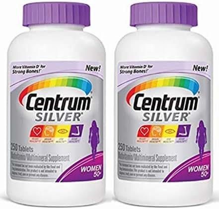Centrum Silver Women Multivitamin/Multimineral Supplement Tablet (Pack of 2)