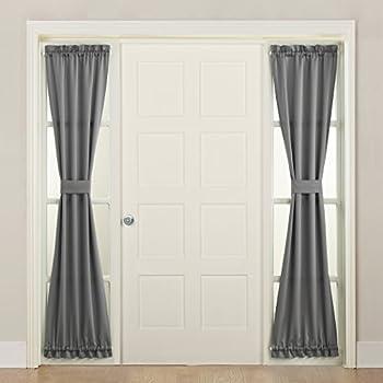 Amazon Com Pony Dance Sidelight Door Curtain Blackout