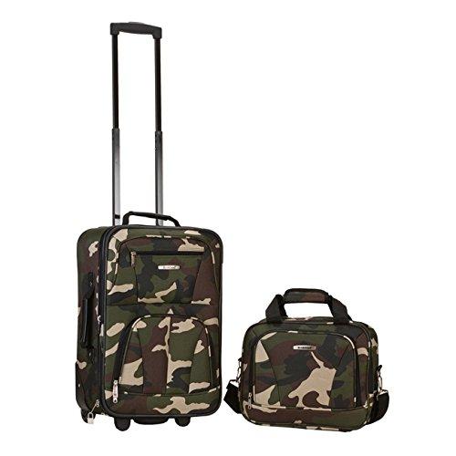 Kids Camouflage Pattern Travel Luggage 2-Piece Set, Camo ...
