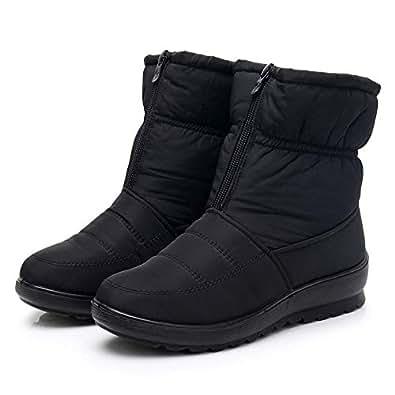Amazon.com | Wobuoke Fashion Women Winter Waterproof Short