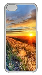 Customized iphone 5C PC Transparent Case - Sunset Cover by Maris's Diary