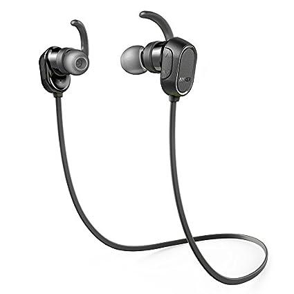 Auriculares Bluetooth, Anker SoundBuds Auriculares Intra-Auriculares, auriculares inalámbricos magnéticos con tiempo de