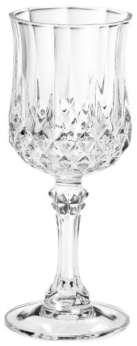 2 Cordial Glass - Arc International Cristal D'Arques Longchamp Liqueur Set of 4, 2 Oz