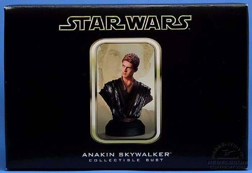 ANAKIN SKYWALKER Attack of the Clones STARWARS LIMITED & NUMBERED EDITION STATUE (Limited Edition Bust)