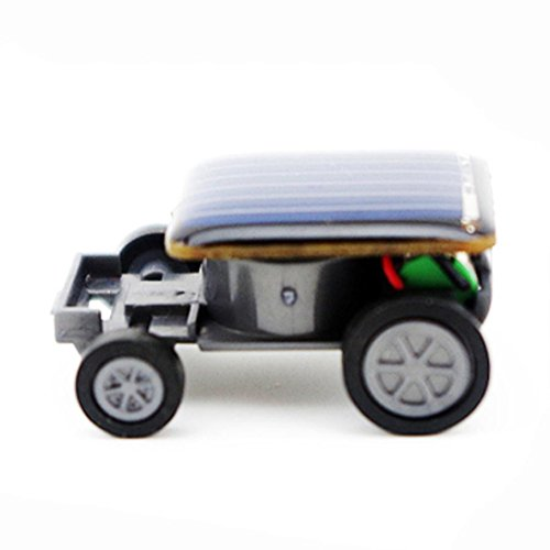 Educational Solar Powered Robot Toy, E-SCENERY Solar Powered Toy Gadget Gift (Car) Car Solar Robot Kit