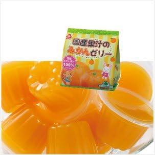 サンコー 国産果汁のみかんゼリー 22g×6 6袋