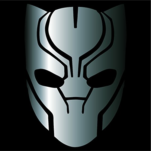 - Black Panther Decal / Sticker - Silver 4