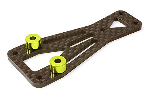 Integy RC Model Hop-ups C26871GREEN Machined Front Top Chassis Plate for Vaterra Twin Hammers 1.9 Rock Racer