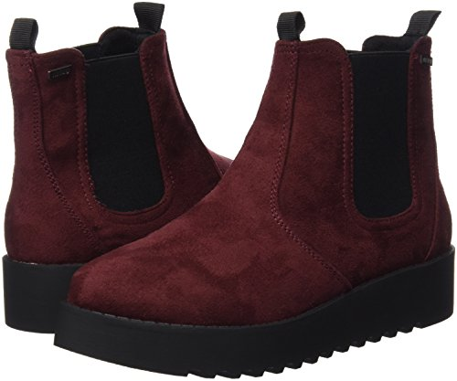 soft Burdeos Mtng Mujer Botas Collection Rojo Chelsea Para 53997 q04pxw08H