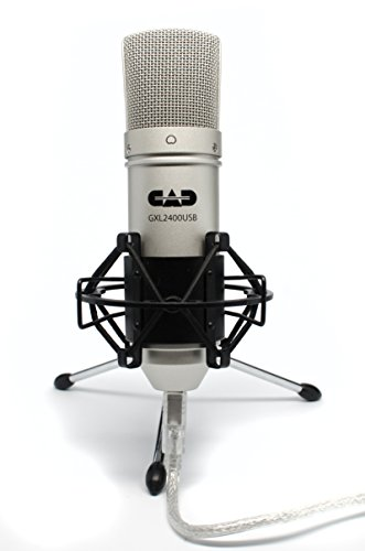 5. CAD GXL2400 USB Streaming Microphone