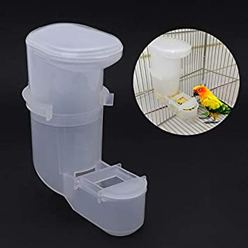 Comedero para pájaros - Comedero automático para alimentar agua y ...