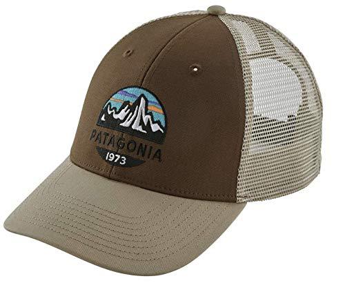 Patagonia Men's Fitz Roy Scope LoPro Trucker Mesh Cap Hat (Timber Brown)