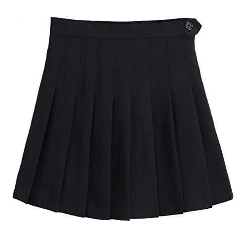 Ourlove Fashion Girl's Short Pleated School Skorts For Teen Girls Tennis Scooters Sport Skirts