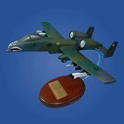 """Mastercraft Collection A-10 Warthog """"Flying Tigers"""" Model"""