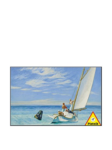 Ground Swell 1000 Piece Edward Hopper Jigsaw Puzzle By Piatnik