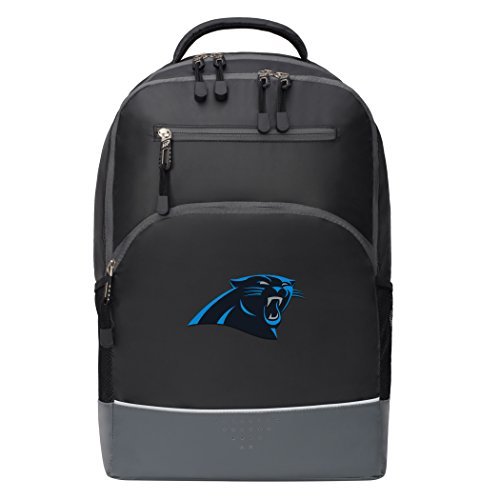 The Northwest Company Officially Licensed NFL Carolina Panthers Alliance Backpack, Black -