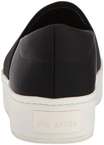 Via Spiga Women's Traynor Slip Sneaker Black Canvas 3sIsPaL