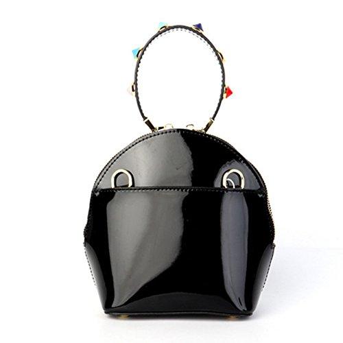 Bandoulière Monnaie KYOKIM Main Chaîne Embrayage Sac Shell Paquet Bag Messenger Véritable À Red Porte Femmes Mesdames Mini Cuir Épaule vrTvp4q