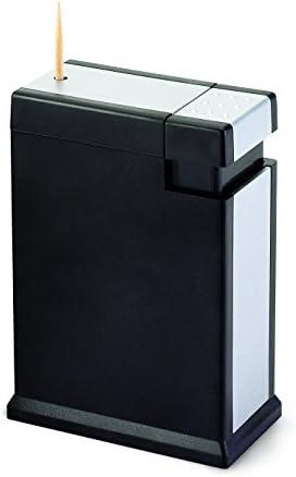 Winkee Zahnstocherspender Lorenzo | Zahnstocher auf Knopfdruck | Toothpick Holder/Dispenser | Lustiges Küchen Gadget | 8 x 5,5 x 3 cm