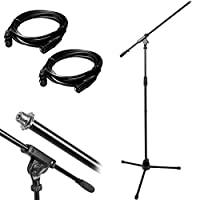 Deals on Monoprice Professional Microphone Stand with 2 Deco Gear