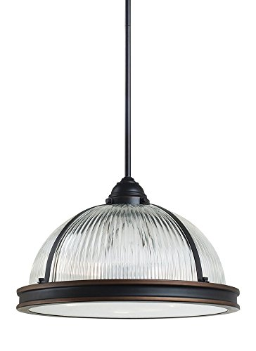 Ribbed Glass Pendant Light Shades